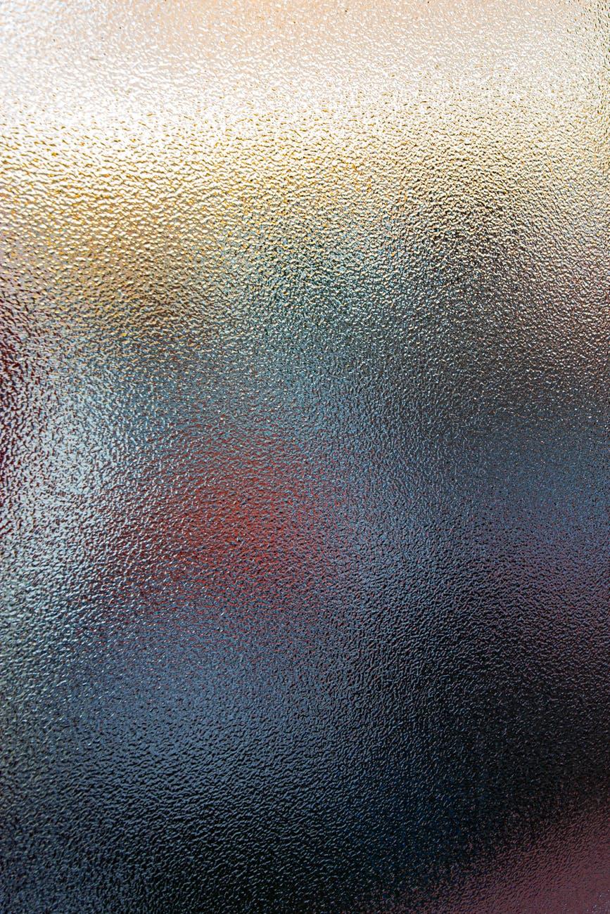 defocused specks on blurred surface